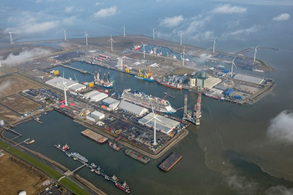 Interview with Groningen Seaports in Wind Energy Magazine November 2019