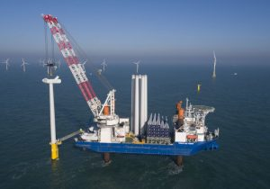 Parkwind and Jan De Nul build largest wind turbines