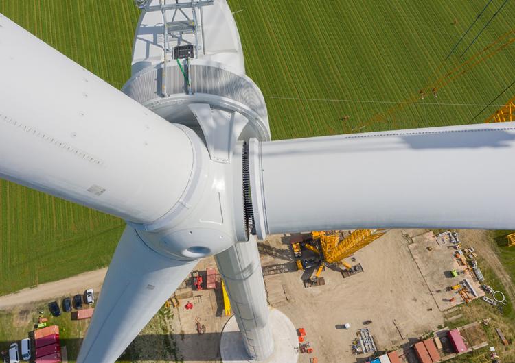 Enercon installs prototype with 160 m rotor diameter in Wieringermeer