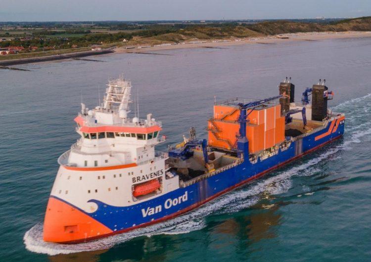 Van Oord installs emission and fuel consumption reduction solution on Bravenes