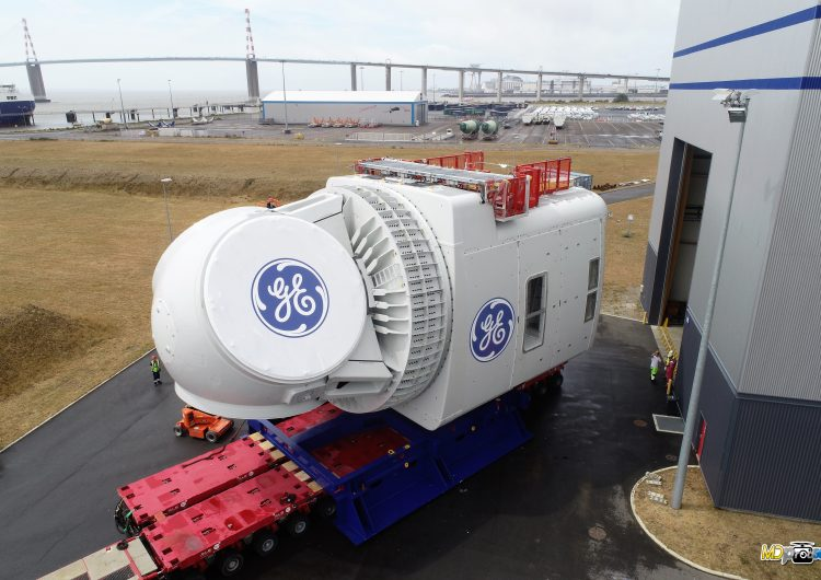 GE shows Haliade-X 12 MW nacelle