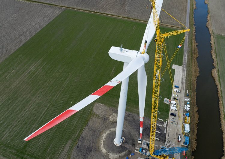 VENSYS installs 2 prototypes for repowering and typhoon-prone markets in Wieringermeer