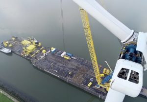 Business in Wind completes unique project removing onshore wind turbines from the water
