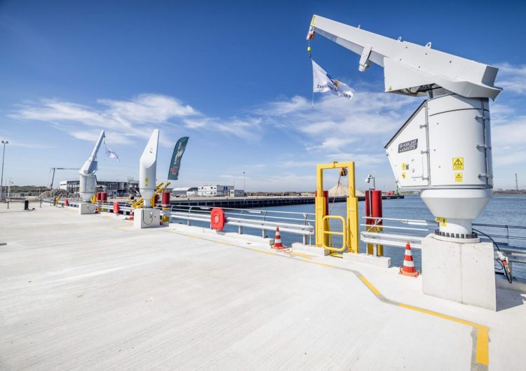 Jetty with 3 CTV spaces is ready for Hollandse Kust Zuid job