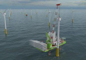Huisman to deliver Leg Encircling Crane for Eneti's WTIV
