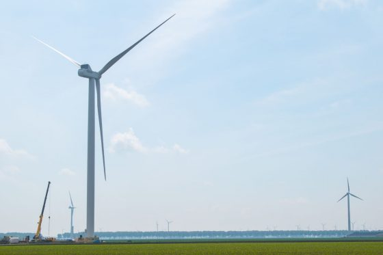 Pure Energie completes turbine construction near Zeewolde