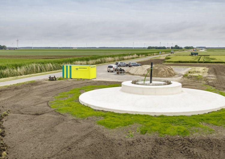 Dura Vermeer-GMB combination completes foundation construction in Zeewolde