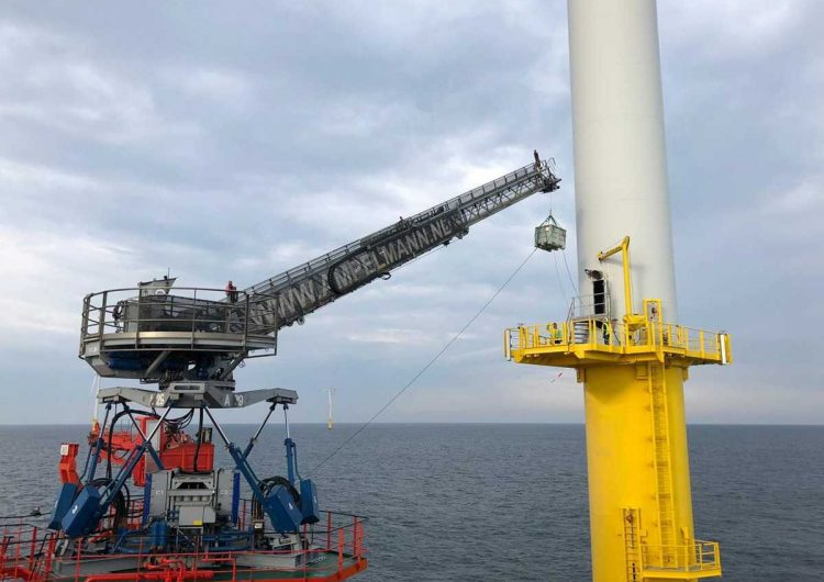 Ampelmann closed 13 offshore deals in first half 2021