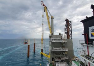Boskalis wraps up 2021 piling campaign for Taiwanese OWF