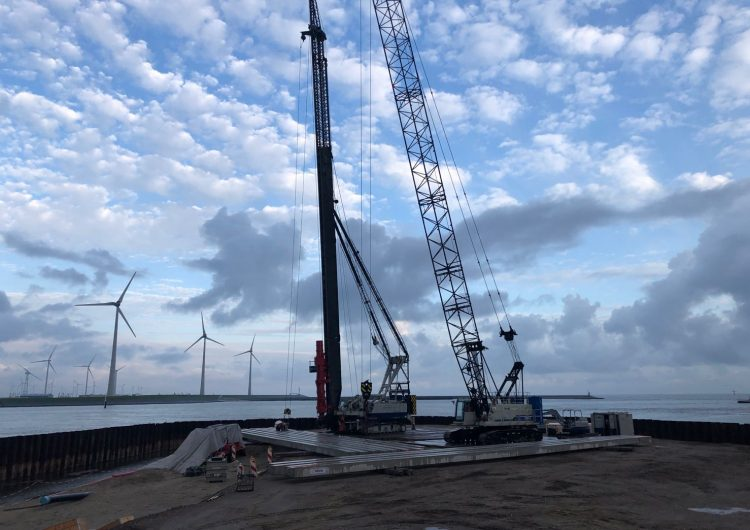 Start construction Strekdammen Wind Farm