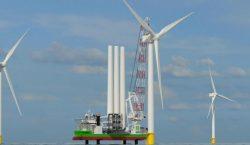 Huisman crane to increase lifting capacity of DEME's jack-up vessel Sea Installer