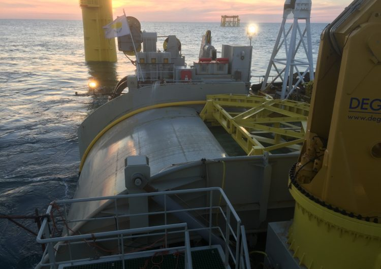 TKF wins inter-array cable contract for Baltic Eagle OWF