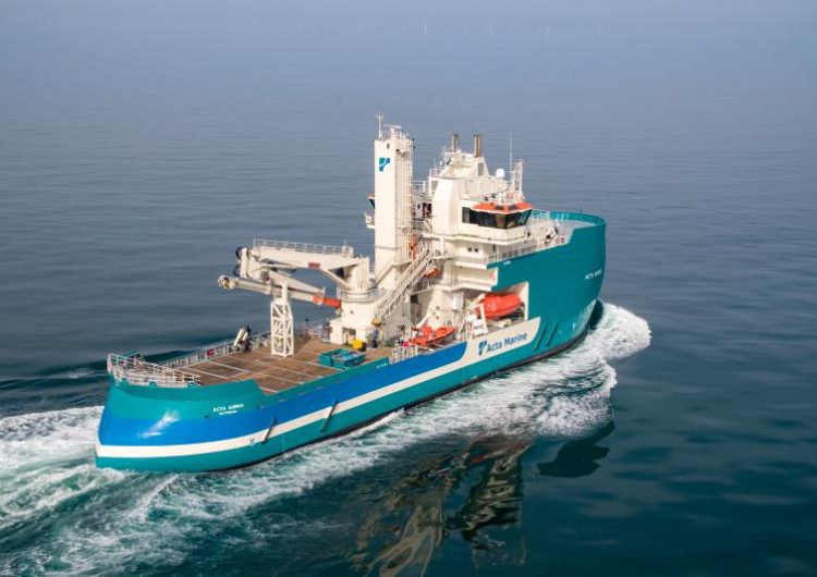 Acta Marine to provide SOV for Saint-Nazaire offshore wind farm
