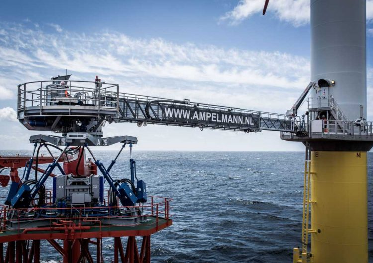Ampelmann enters Chinese offshore market