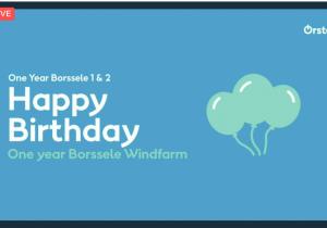 Borssele 1&2 celebrates belated opening ceremony & one year operation