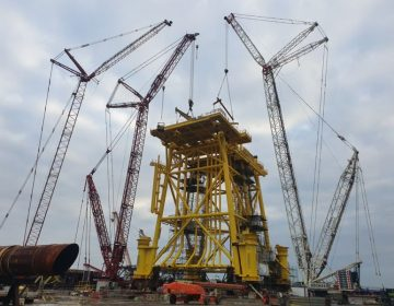 Hollandse Kust (Noord) OSS foundation nears completion