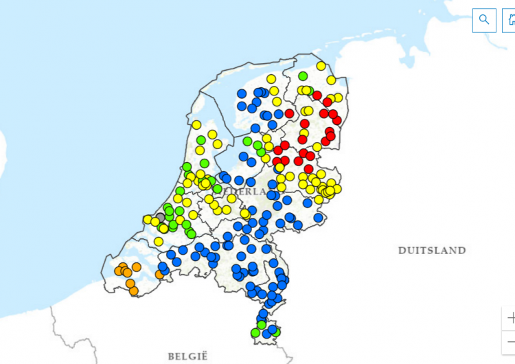 TenneT publishes online map showing available capacity on high-voltage grid