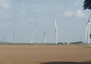 Turbine installation at Piet de Wit wind farm completed