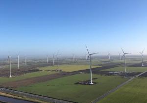 Eurus puts last of three wind farms in Groningen into operation