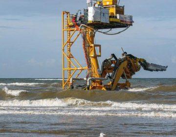 Jan de Nul completes Eneco Luchterduinen export cable reburial